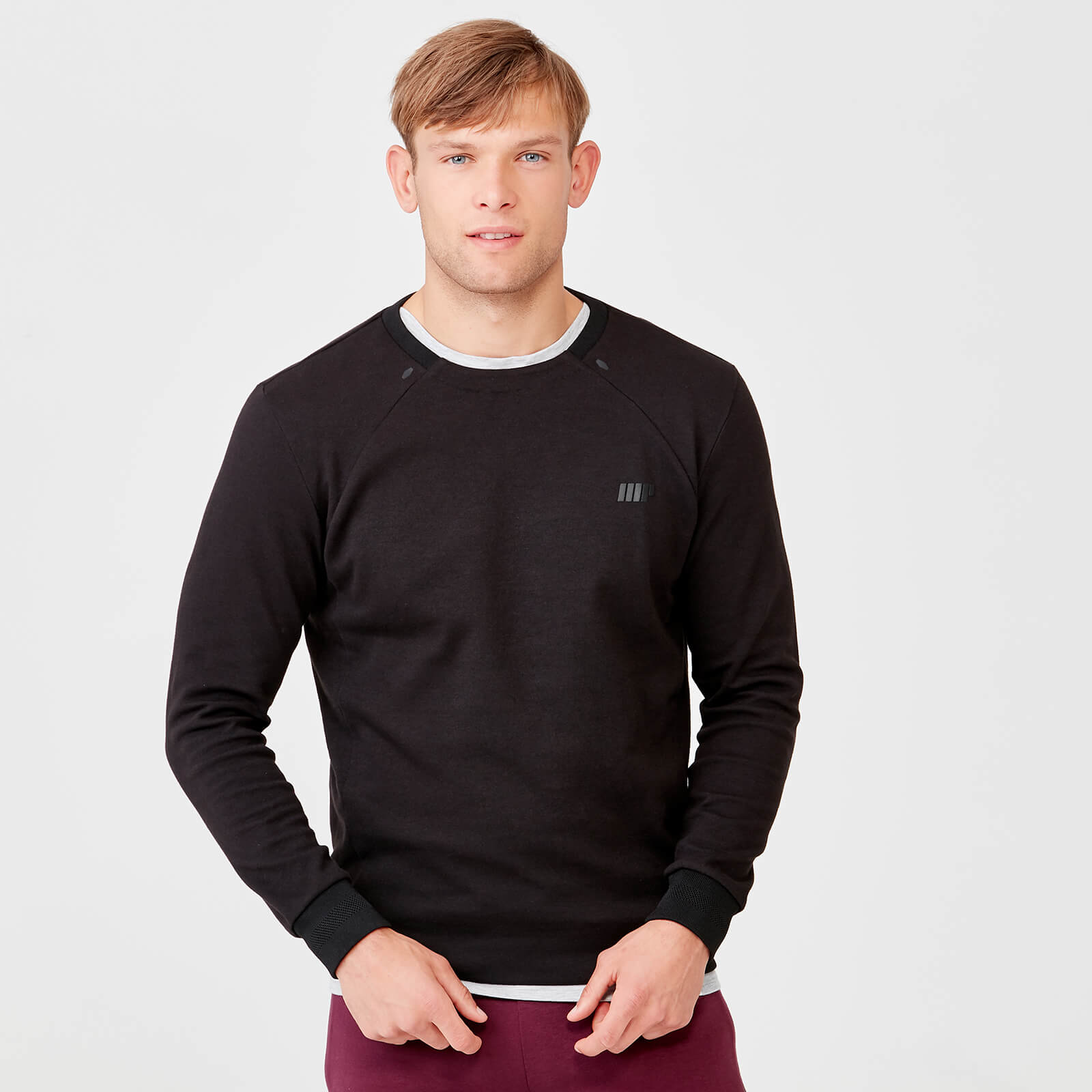 Pro Tech Crew Neck Sweatshirt 2.0 - Black - S