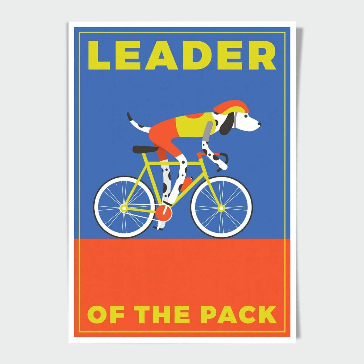 Leader Of The Pack A4 Print