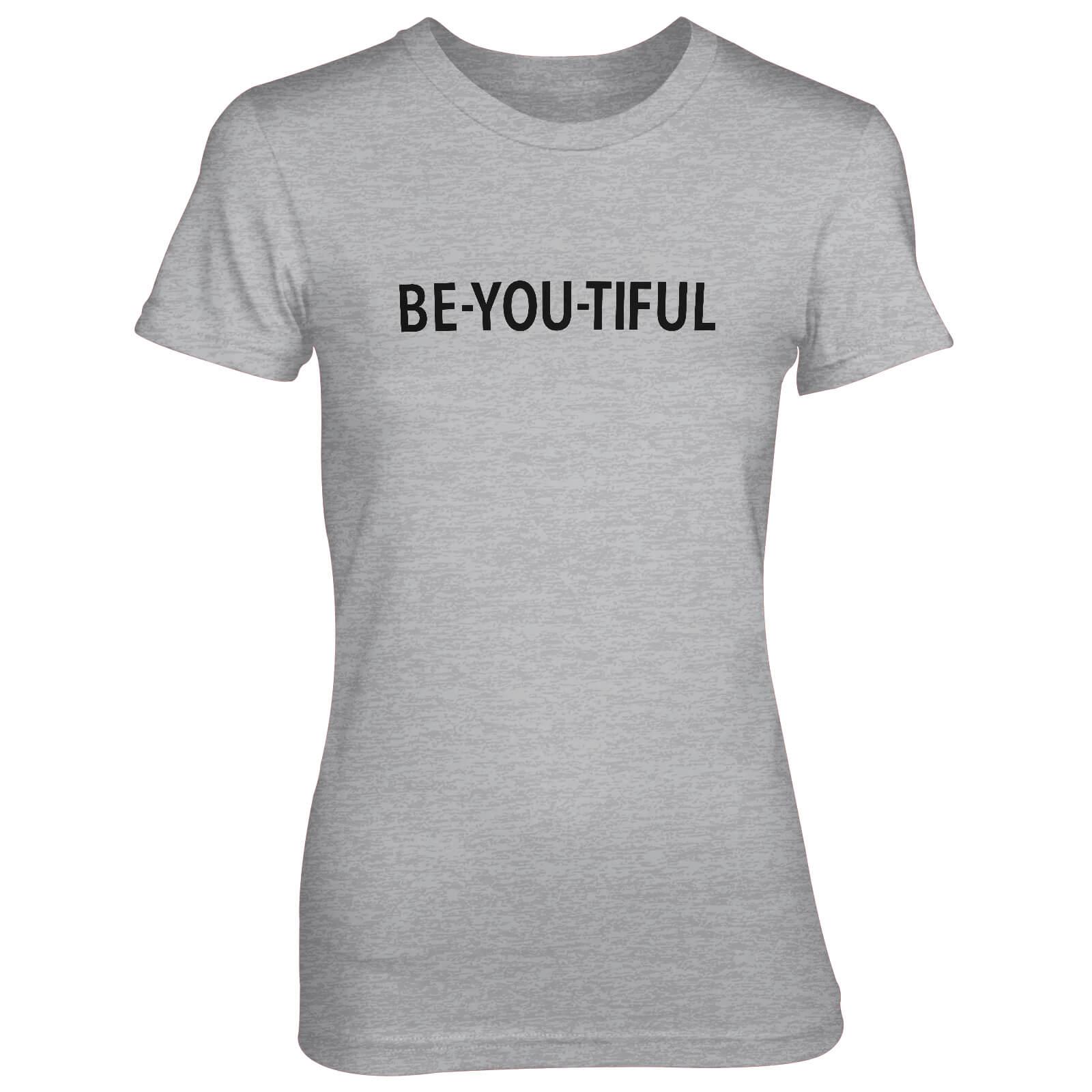 83191ac8 Be-You-Tiful Women's Grey T-Shirt Clothing | Zavvi