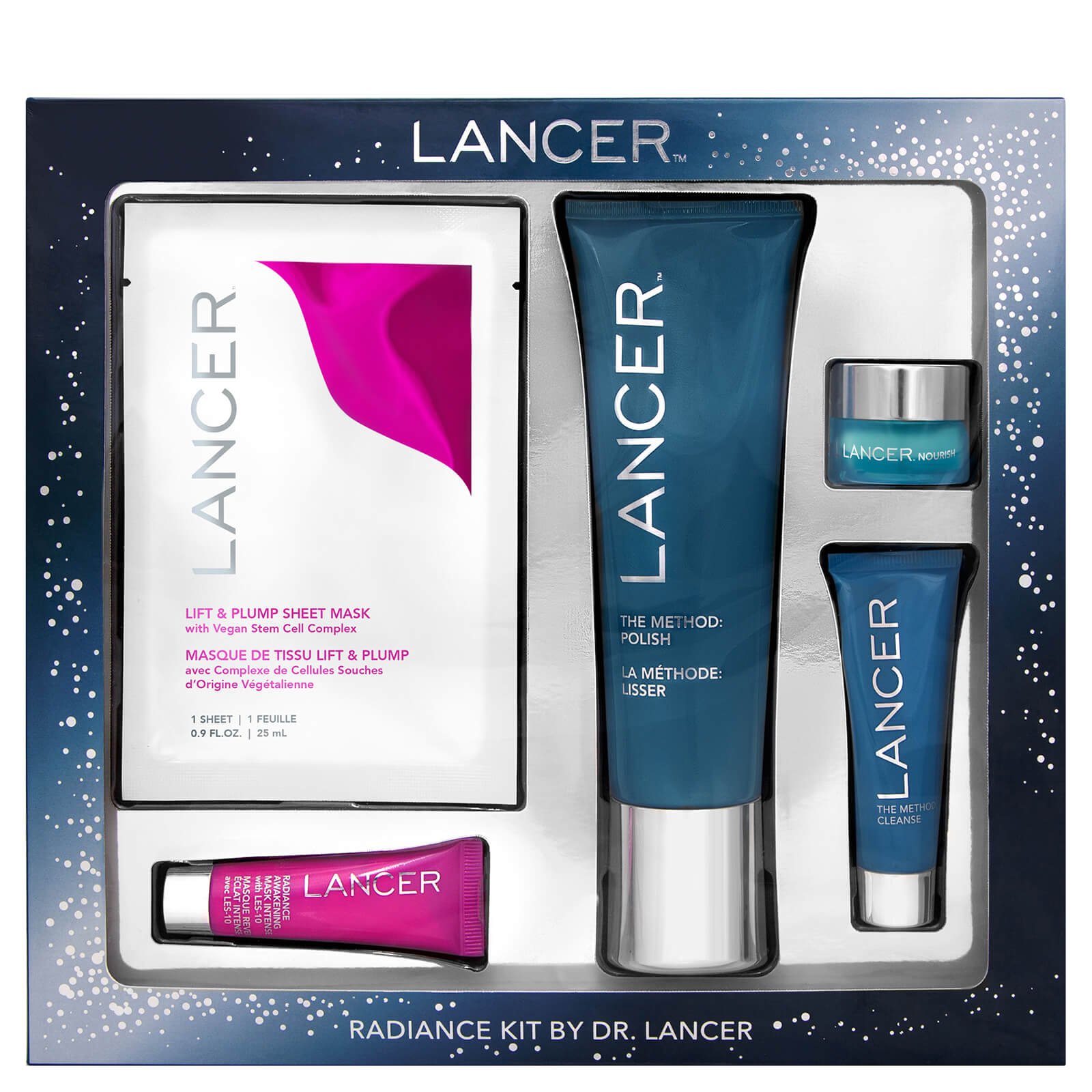 Lancer Skincare Radiance Kit By Dr Lancer Free Shipping
