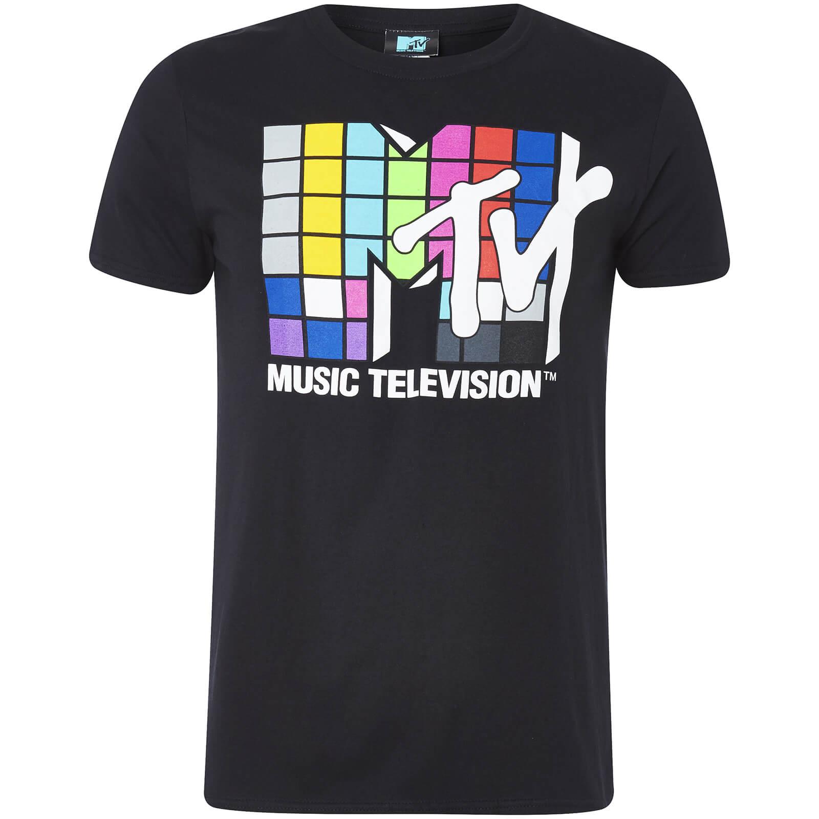 5b2b798ebf MTV Men s Logo T-Shirt - Black Merchandise