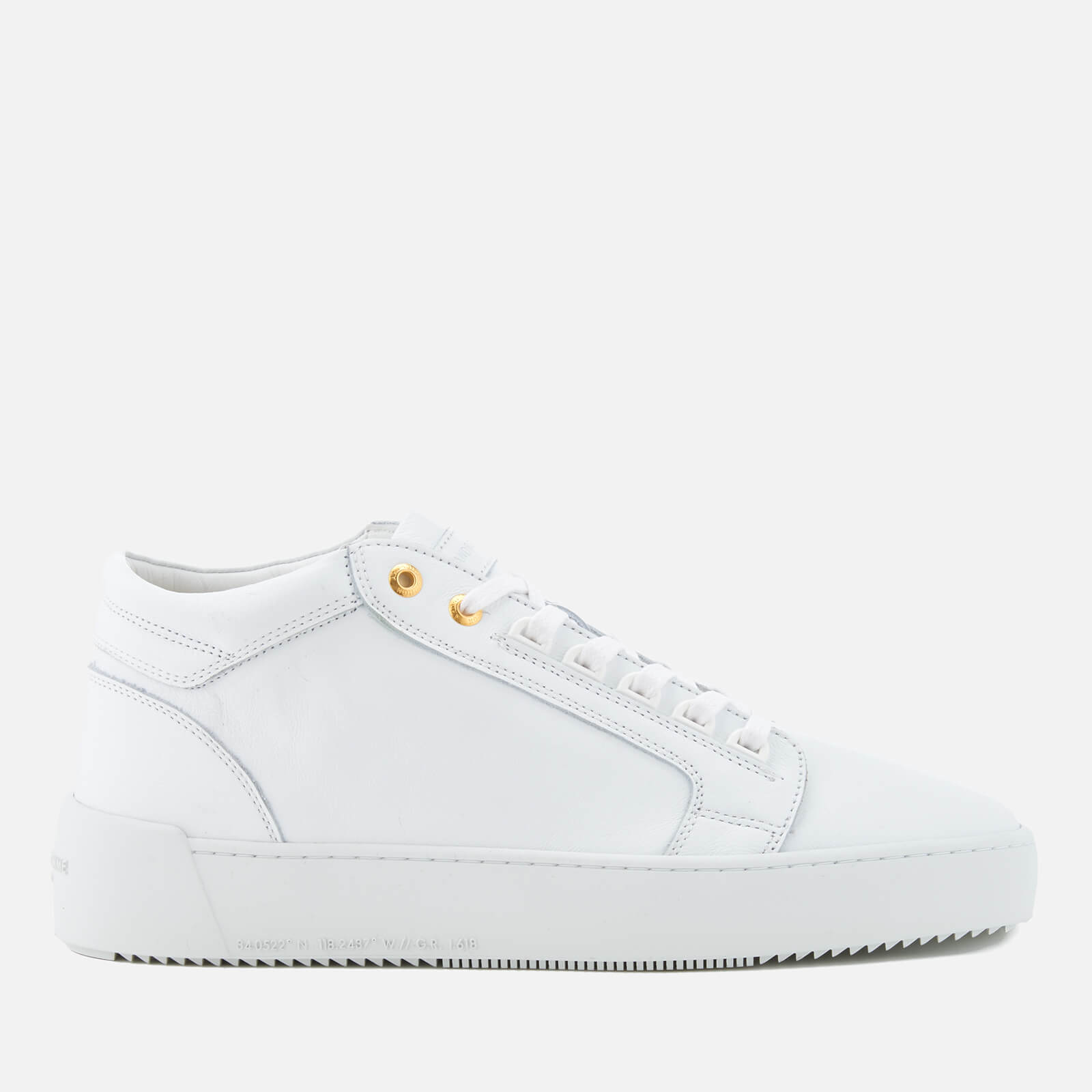 3f80471c772f Android Homme Men s Propulsion Mid Trainers - White - Free UK Delivery over  £50