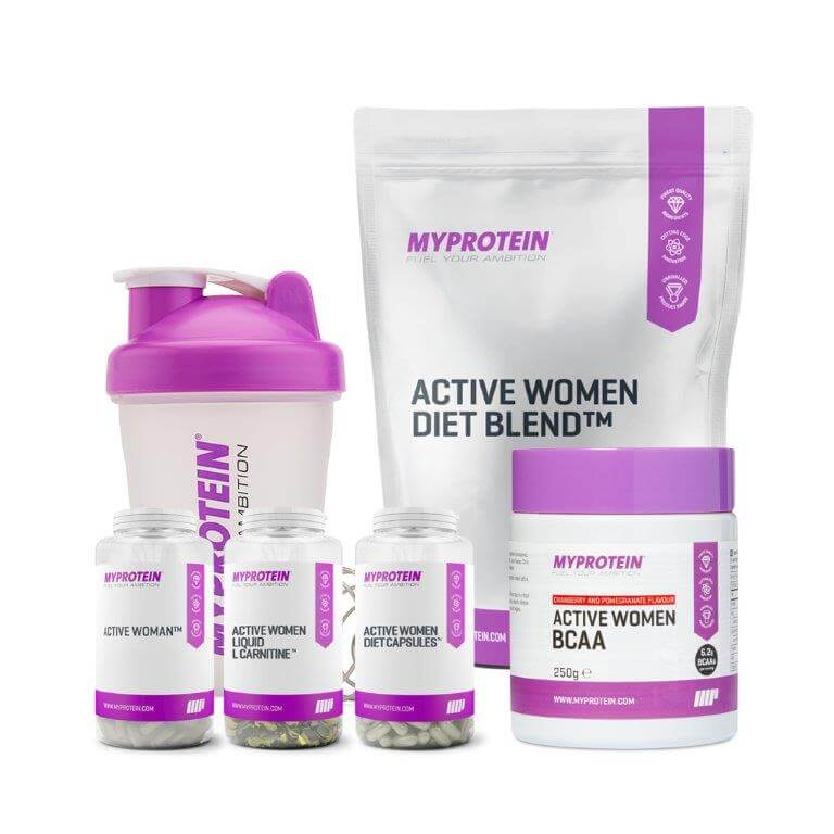 Active Woman Weight Loss Bundle v2 - Chocolate Fudge Brownie, Cranberry & Pomegranate