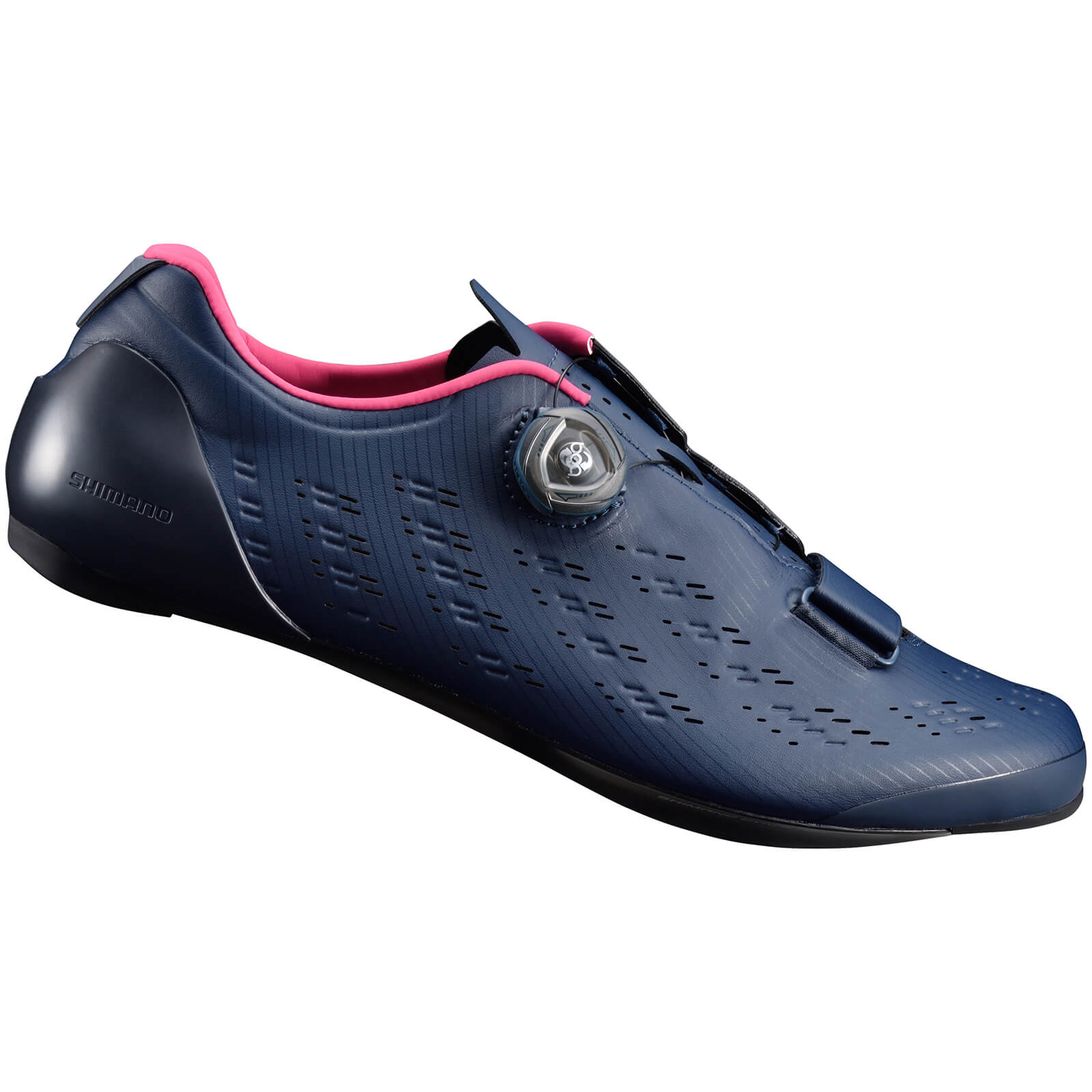 Shimano RP9 Road Shoes Carbon Sole - Navy