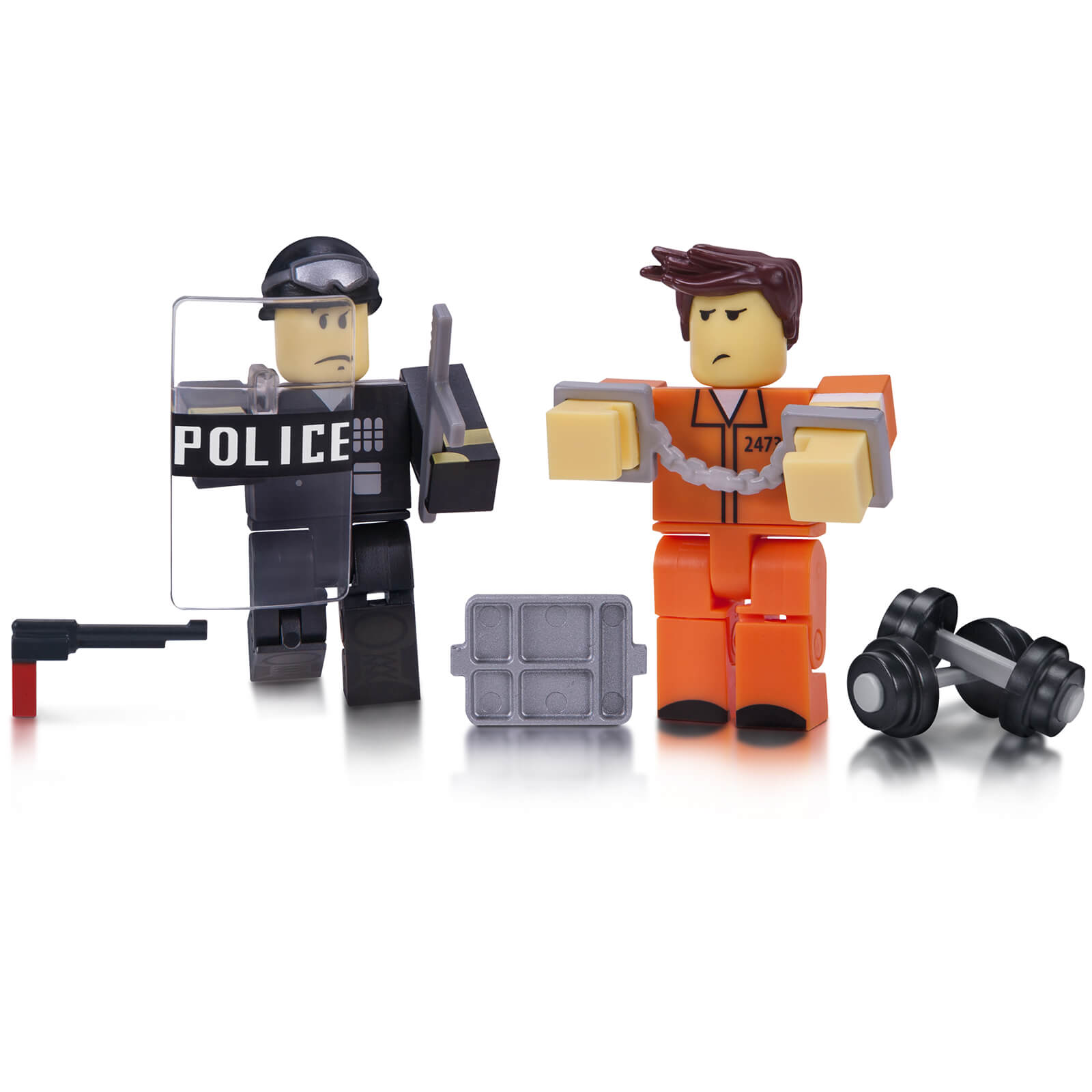 ROBLOX Prison Life Game Figure Pack