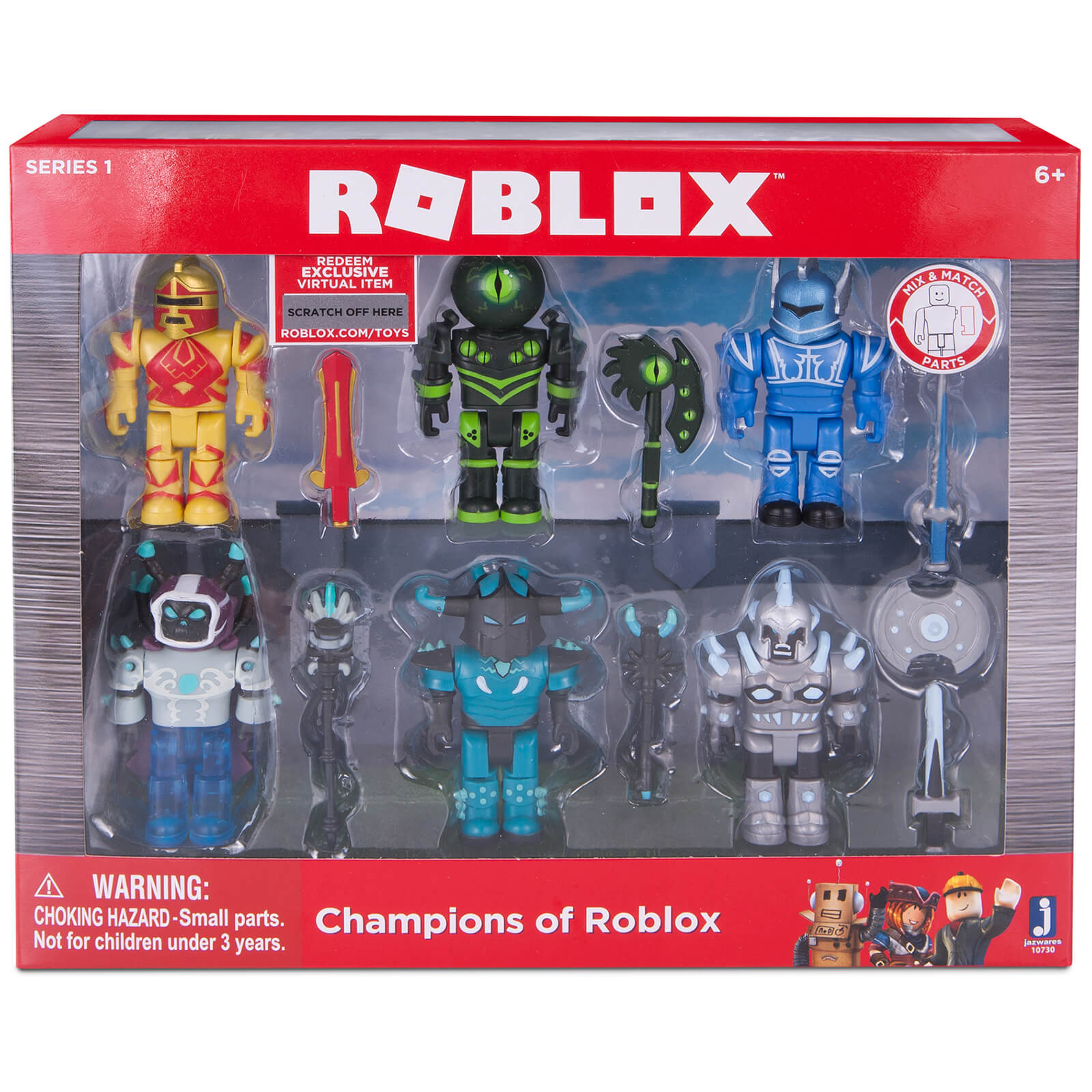 ROBLOX Champions of ROBLOX 6 Pack Figures