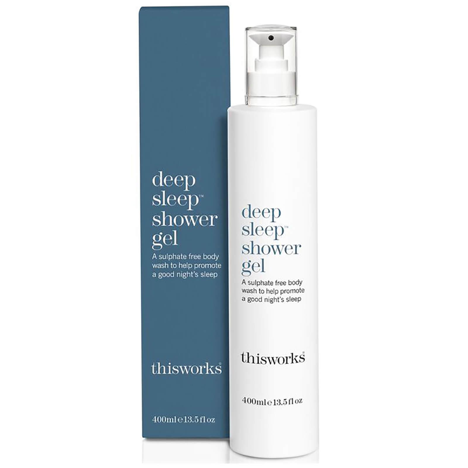 This Works Deep Sleep Shower Gel 400ml Beautyexpert Deryan Toddler Luxe Cream Pueter Travel Sleeping Cot Bed Product Description