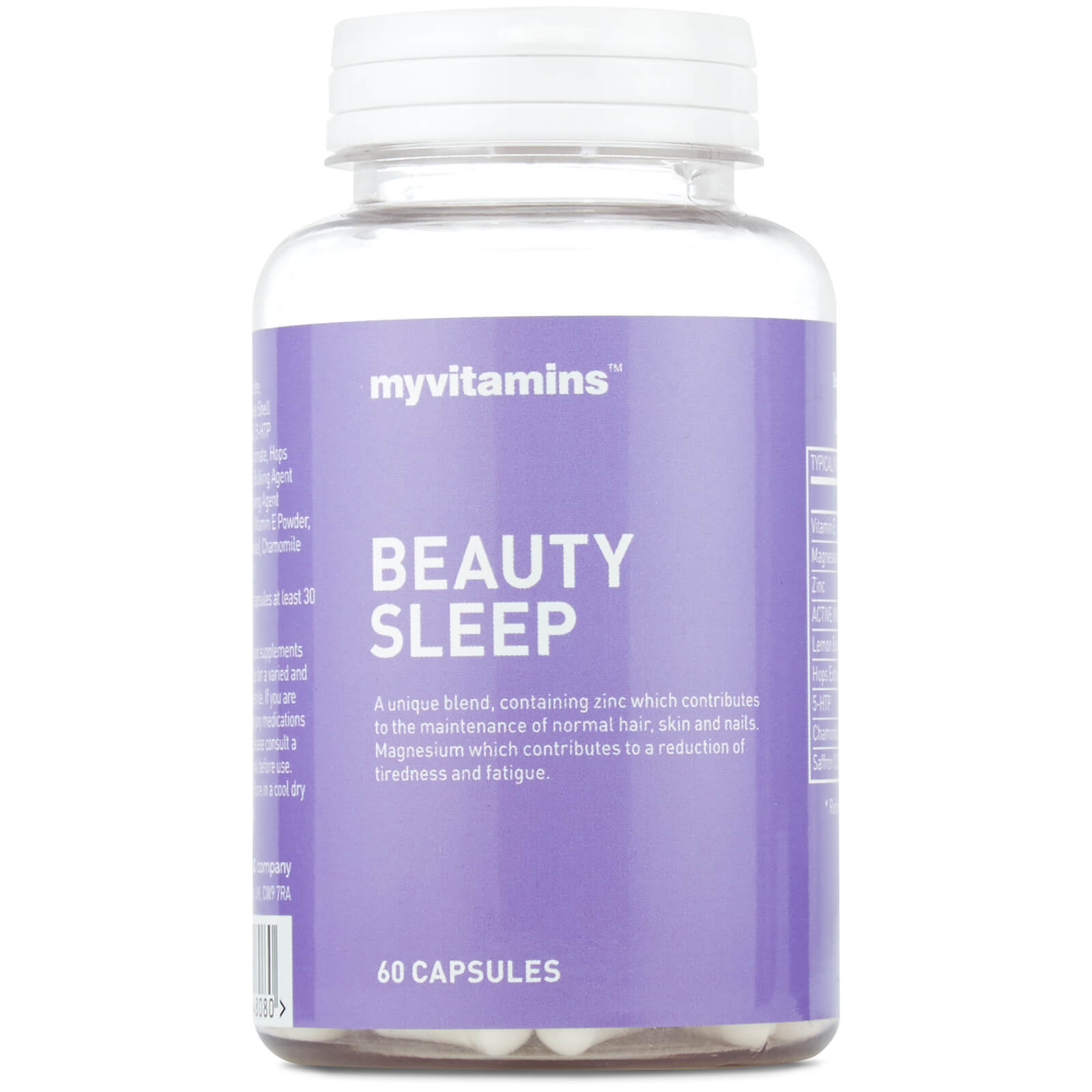 Myvitamins Beauty Sleep , 60 Capsules