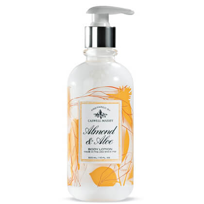 Caswell-Massey Almond and Aloe Hand & Body Emulsion with Silk