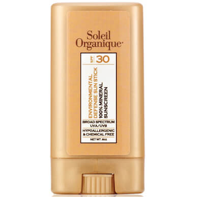 Soleil Organique Environmental Defense Sunscreen Stick SPF 30
