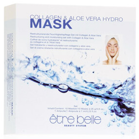 être belle Cosmetics Collagen & Aloe Vera Hydro Mask