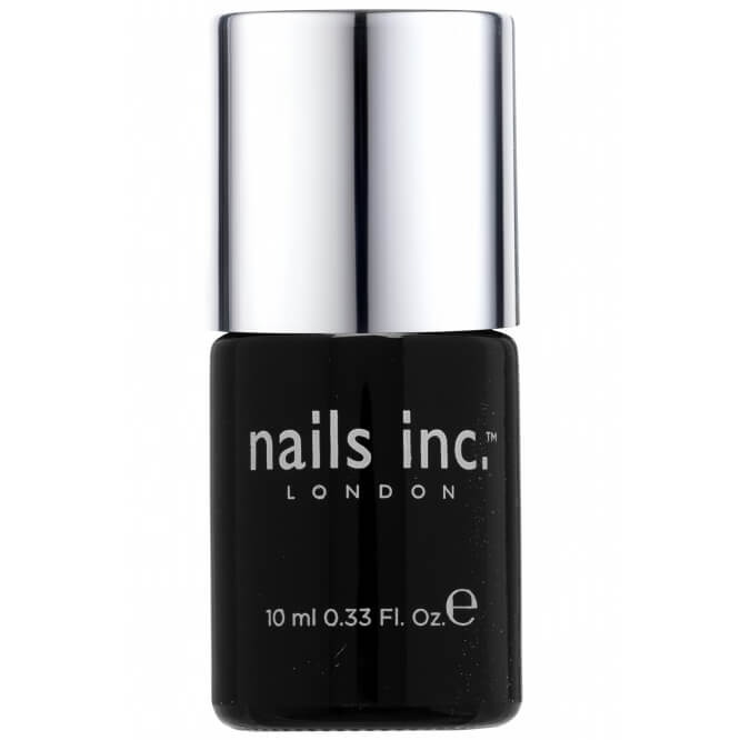 NAILS INC 45 Second Top Coat with Kensington Caviar