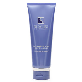 Scalisi Face Cleanser and Exfoliator