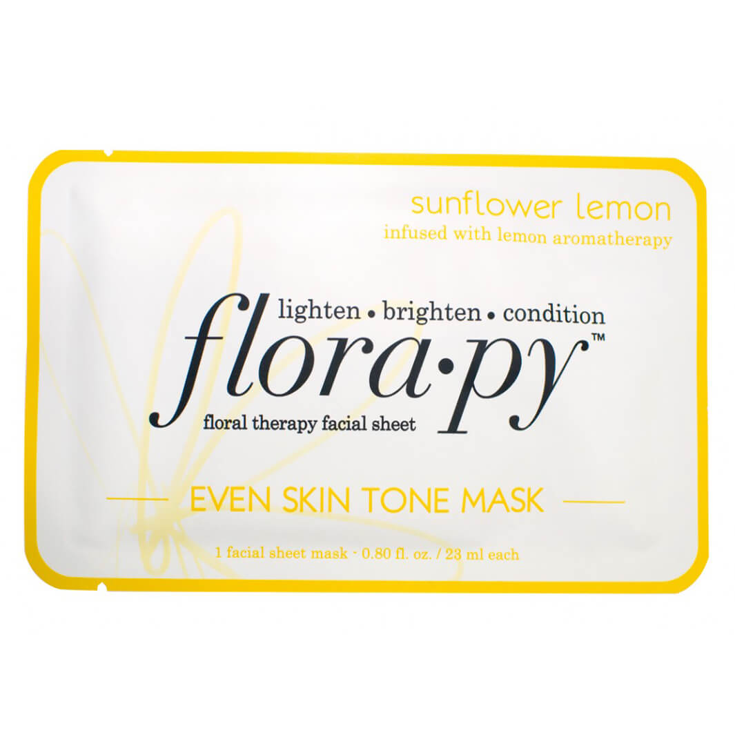 Florapy Even Skin Tone Mask - Sunflower Lemon