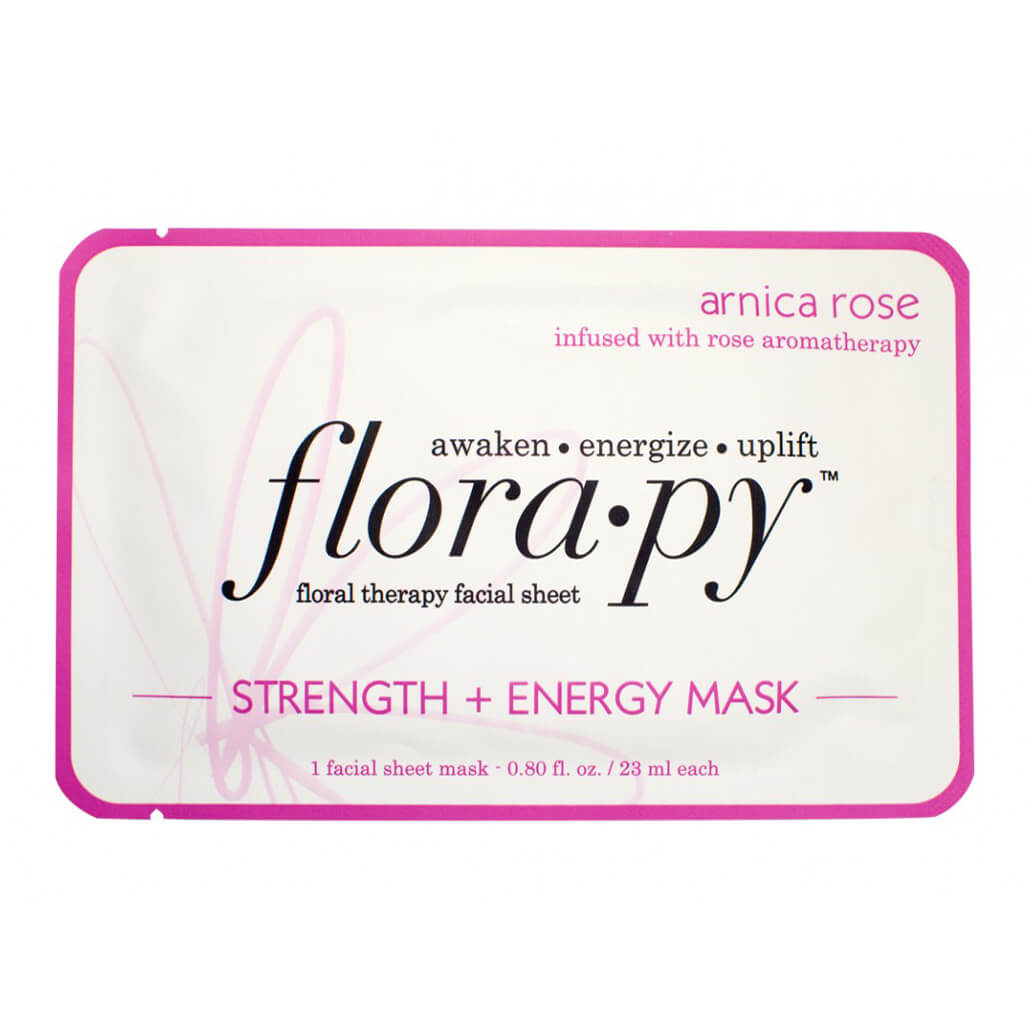 Florapy Strength + Energy Mask - Arnica Rose