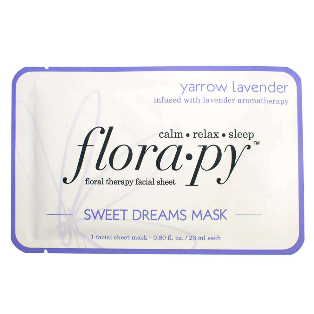 Florapy Sweet Dreams Mask - Yarrow Lavender
