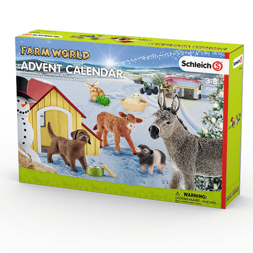 Schleich Advent Calendar 2017 - Farm Life