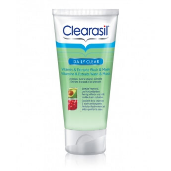Clearasil Vitamin & Extrakte Wash & Mask