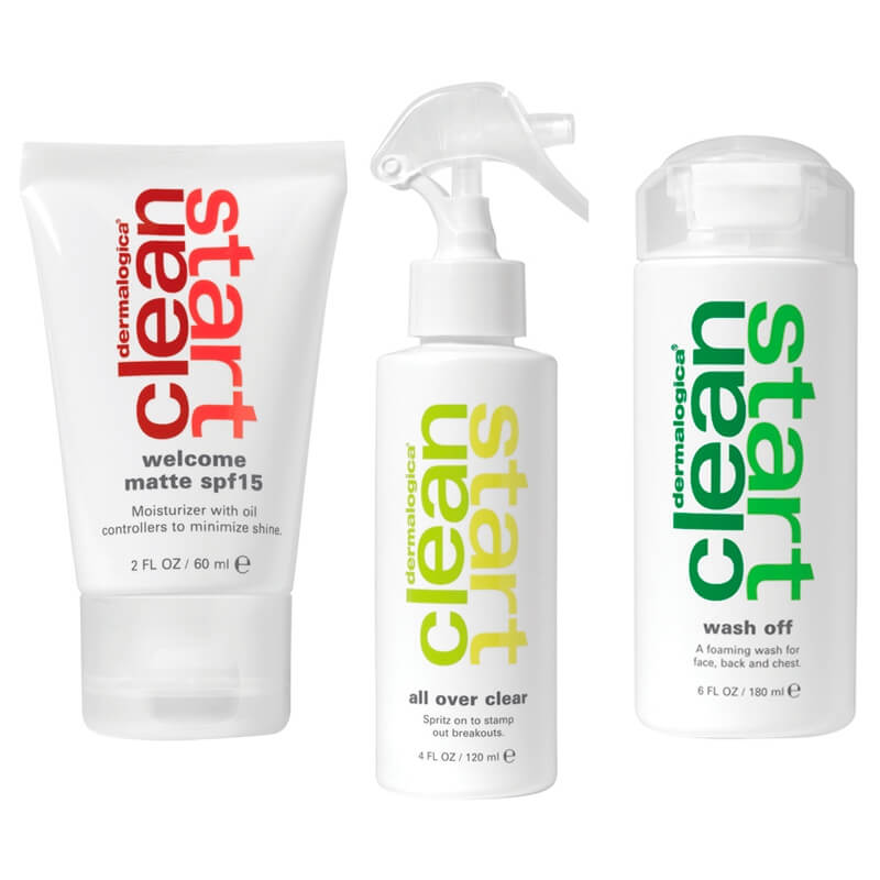 "Dermalogica Clean Start™ Kit ""Day/Night"""