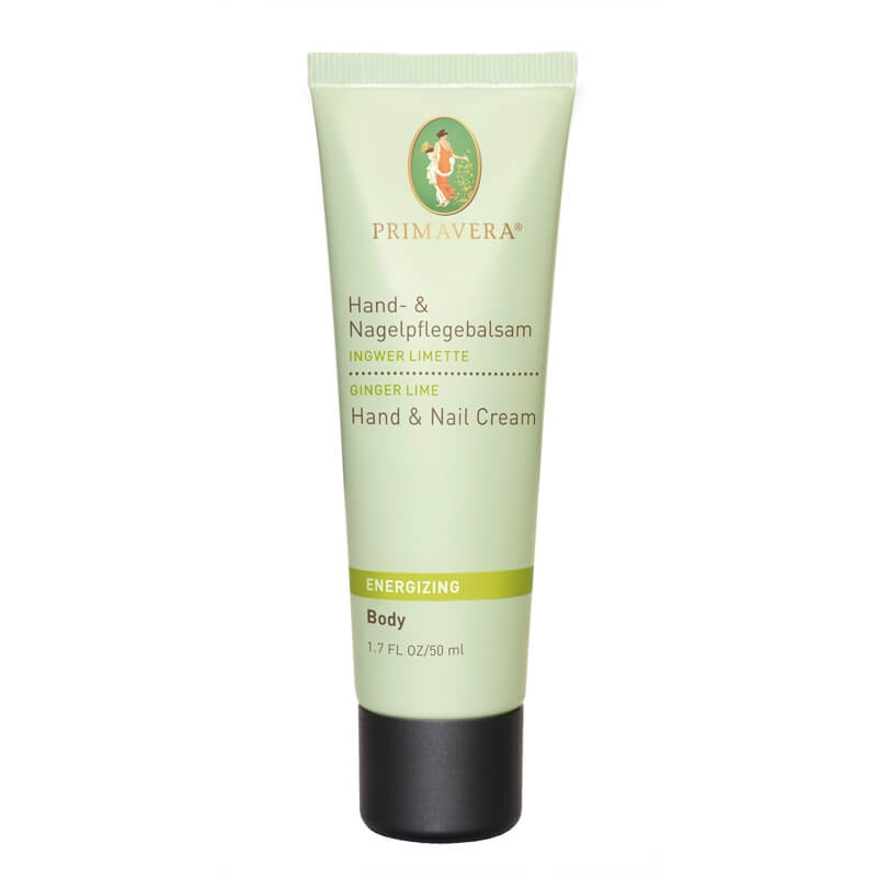 Primavera Ginger Lime Hand & Nail Cream