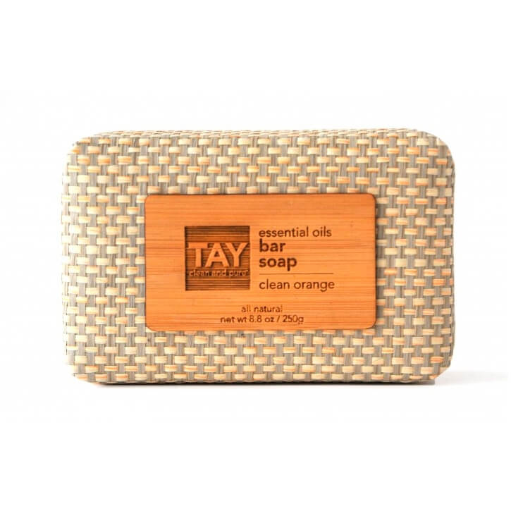 TAY Bar Soap in Clean Orange