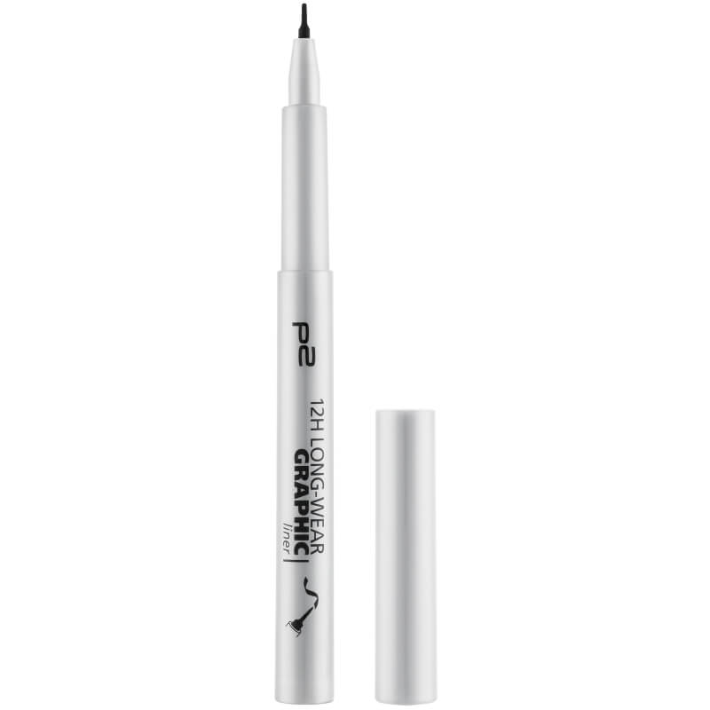p2 cosmetics 12h long-wear graphic liner
