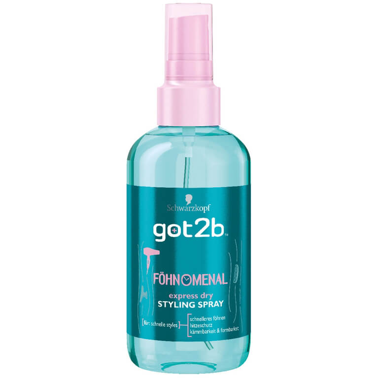 GOT2B FÖHNOMENAL express dry STYLING SPRAY