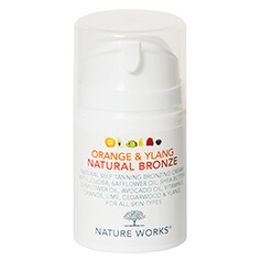 Nature Works Orange & Ylang Natural Bronze