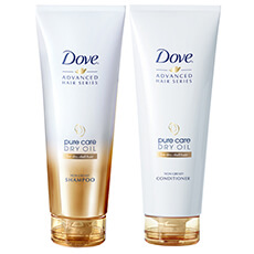 DOVE Pure Care Dry Oil Shampo & Balsam