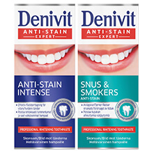 Denivit Snus & Smokers Anti-Stan och Anti-Stain Intense