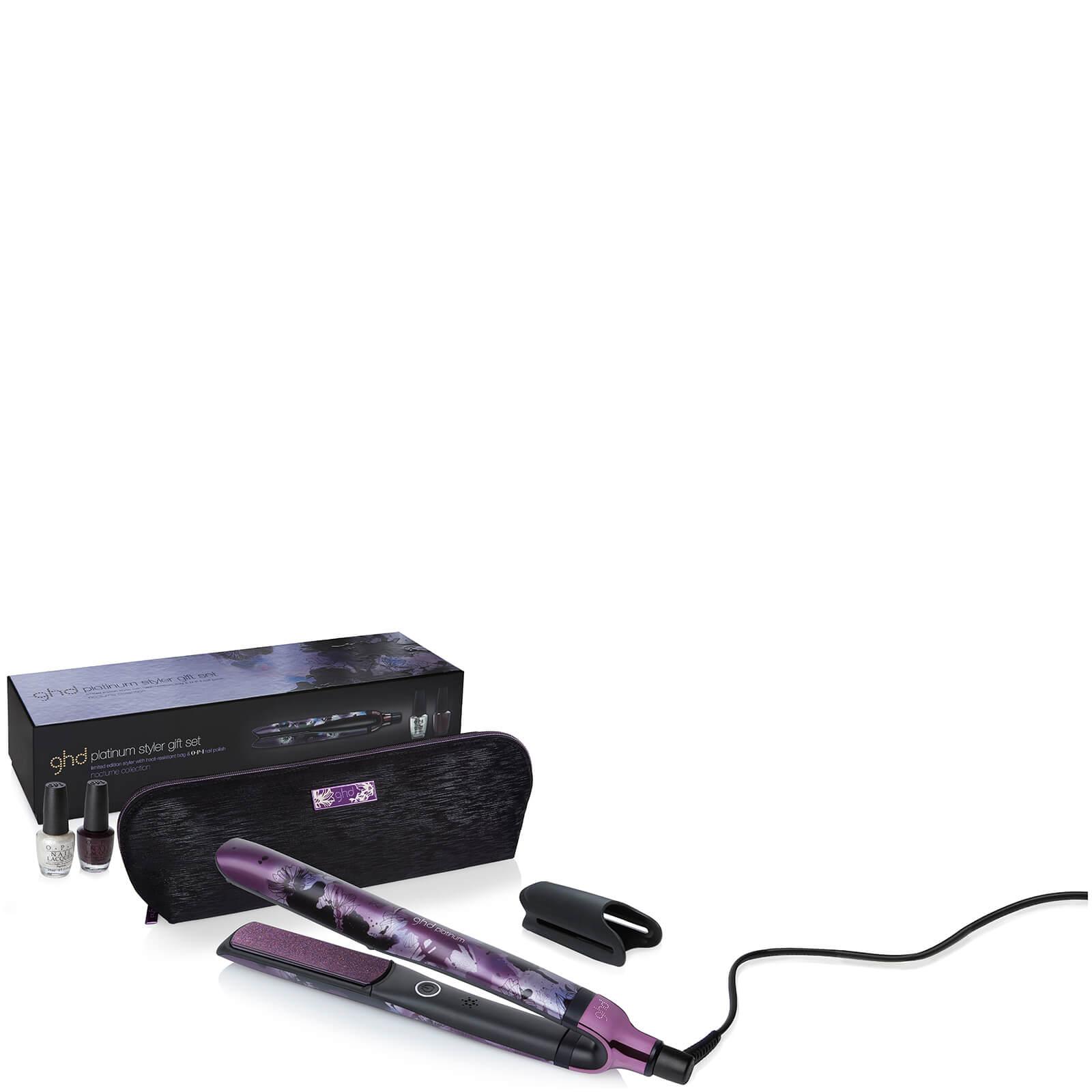 ghd Nocturne Collection Platinum Styler Gift Set - Svensk stickkontakt -  Snabb leverans 377e29cd2f775