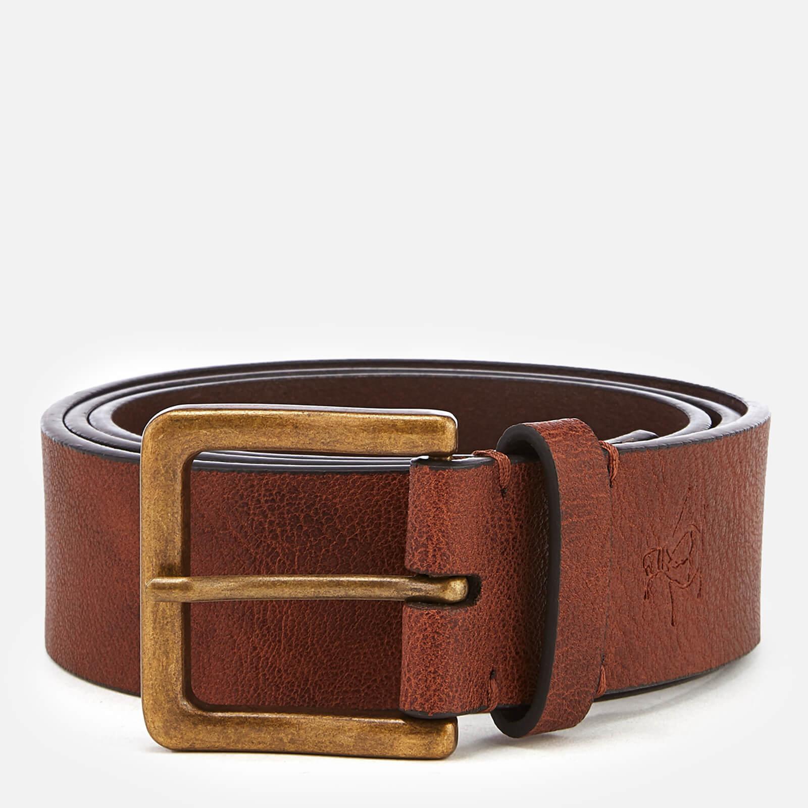 eb6a29993fcf Original Penguin Men's Leather Jeans Belt - Brown Mens Accessories ...