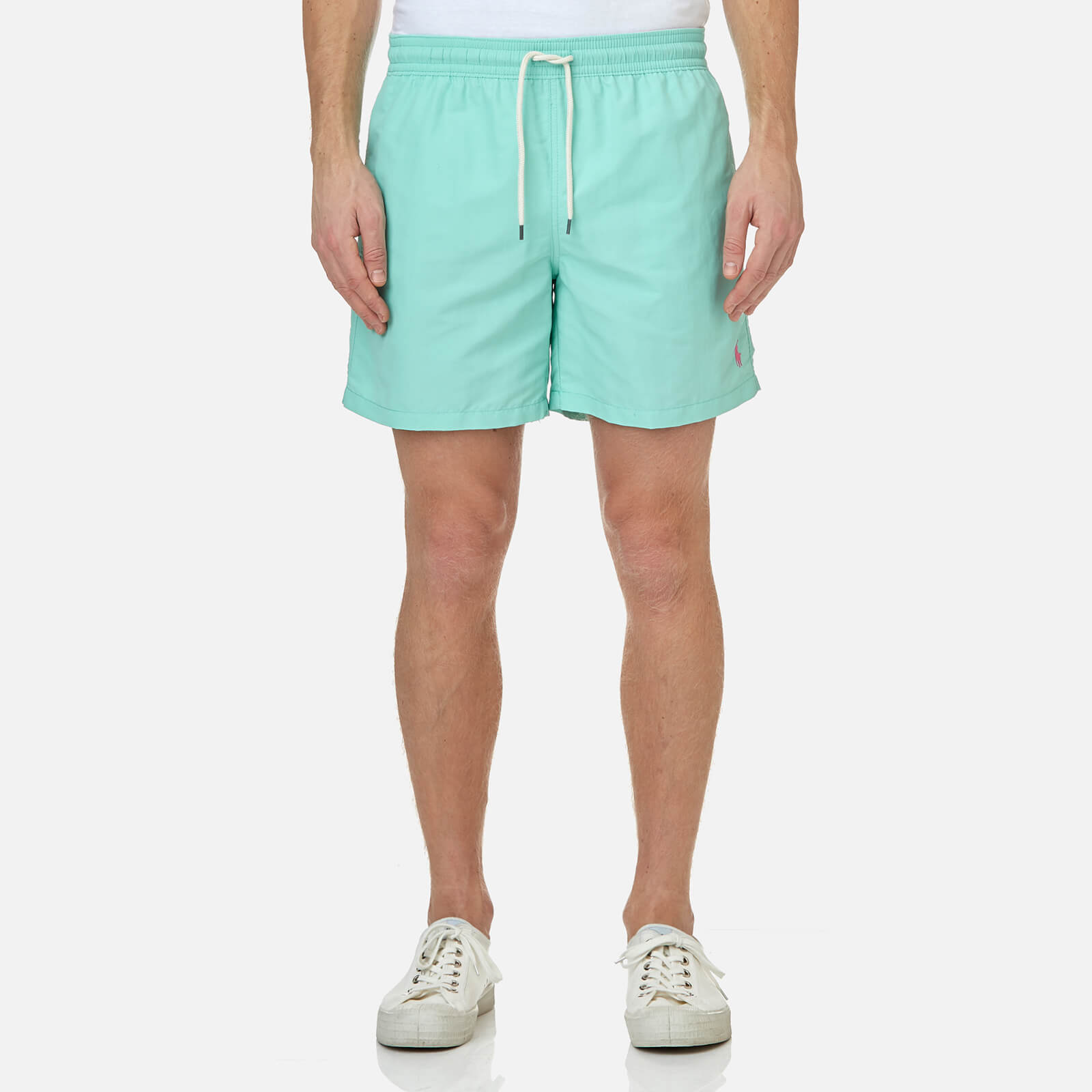 c6f470ee1c Polo Ralph Lauren Men's Traveler Swim Shorts - Bayside Green - Free UK  Delivery over £50