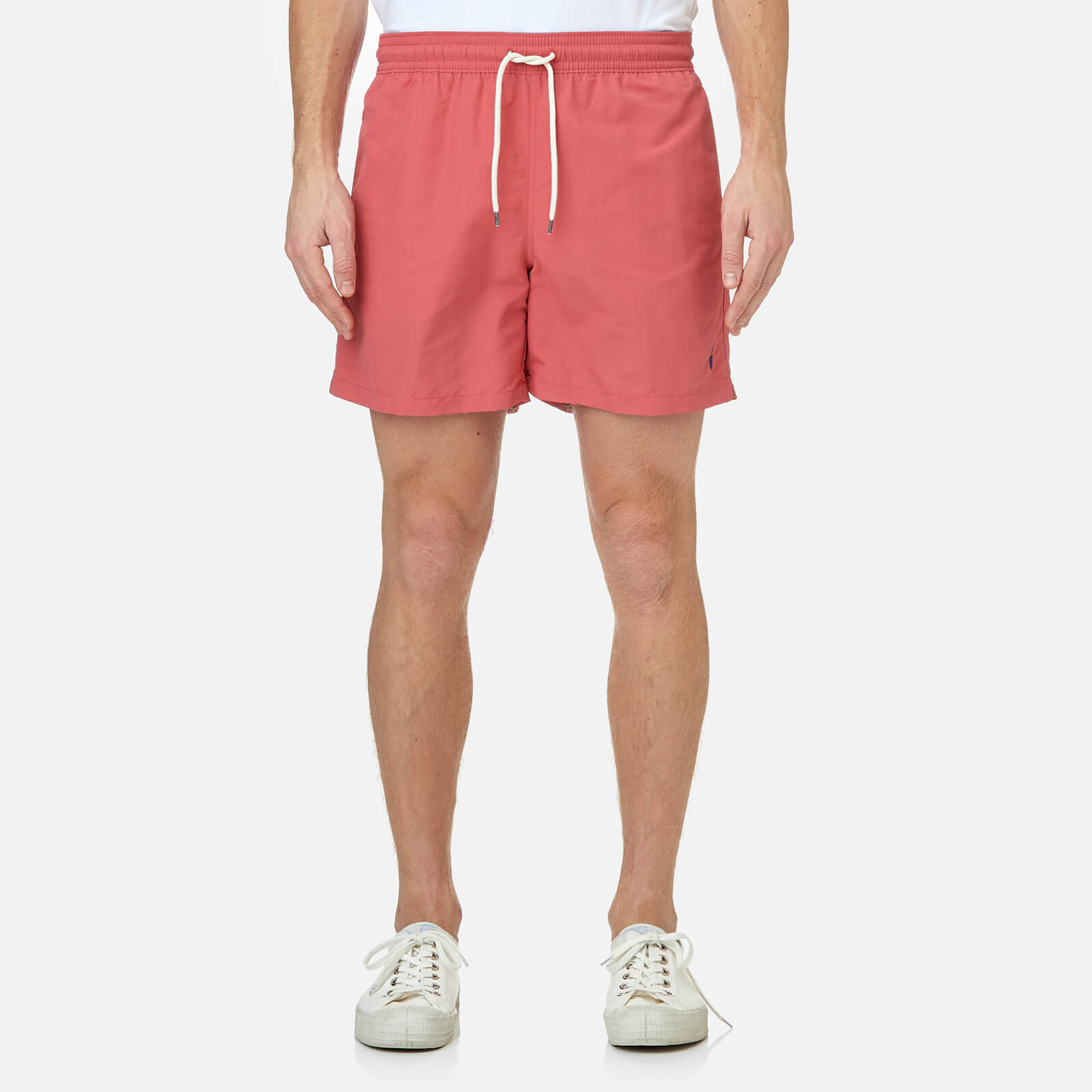a10ee540b4 Polo Ralph Lauren Men's Traveler Swim Shorts - Hyannis Red - Free UK  Delivery over £50