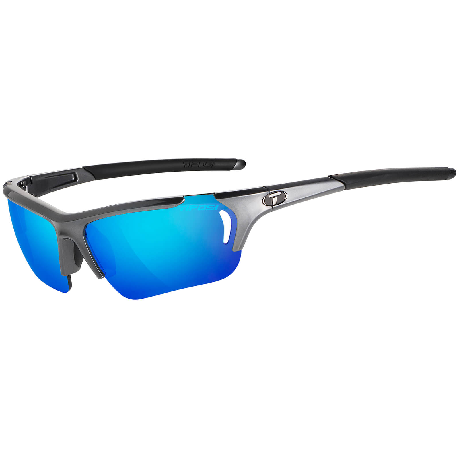 Tifosi Radius FC Interchangeable Sunglasses - Gunmetal /Clarion Blue