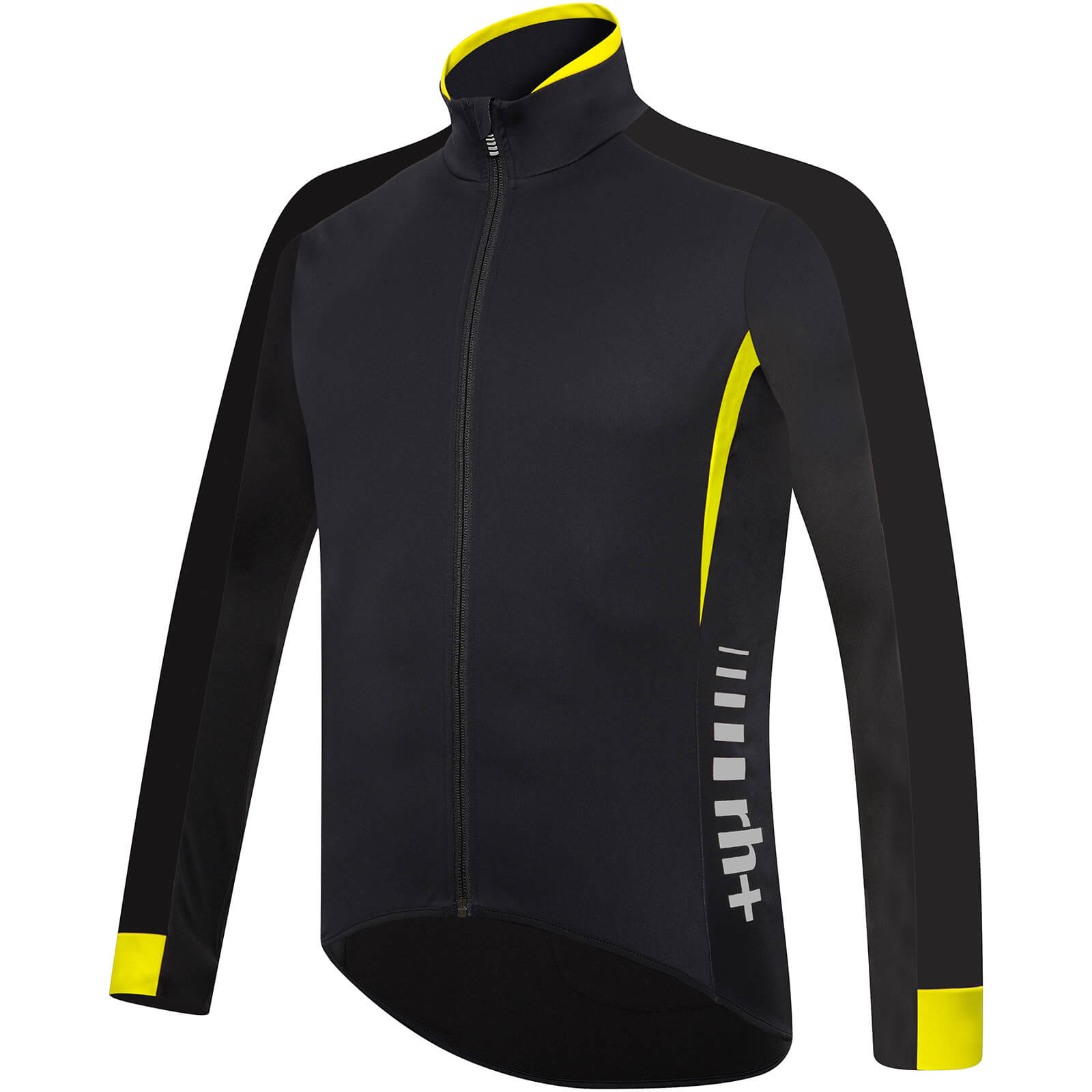 RH+ Shiver Jacket - Black/Fluo Yellow