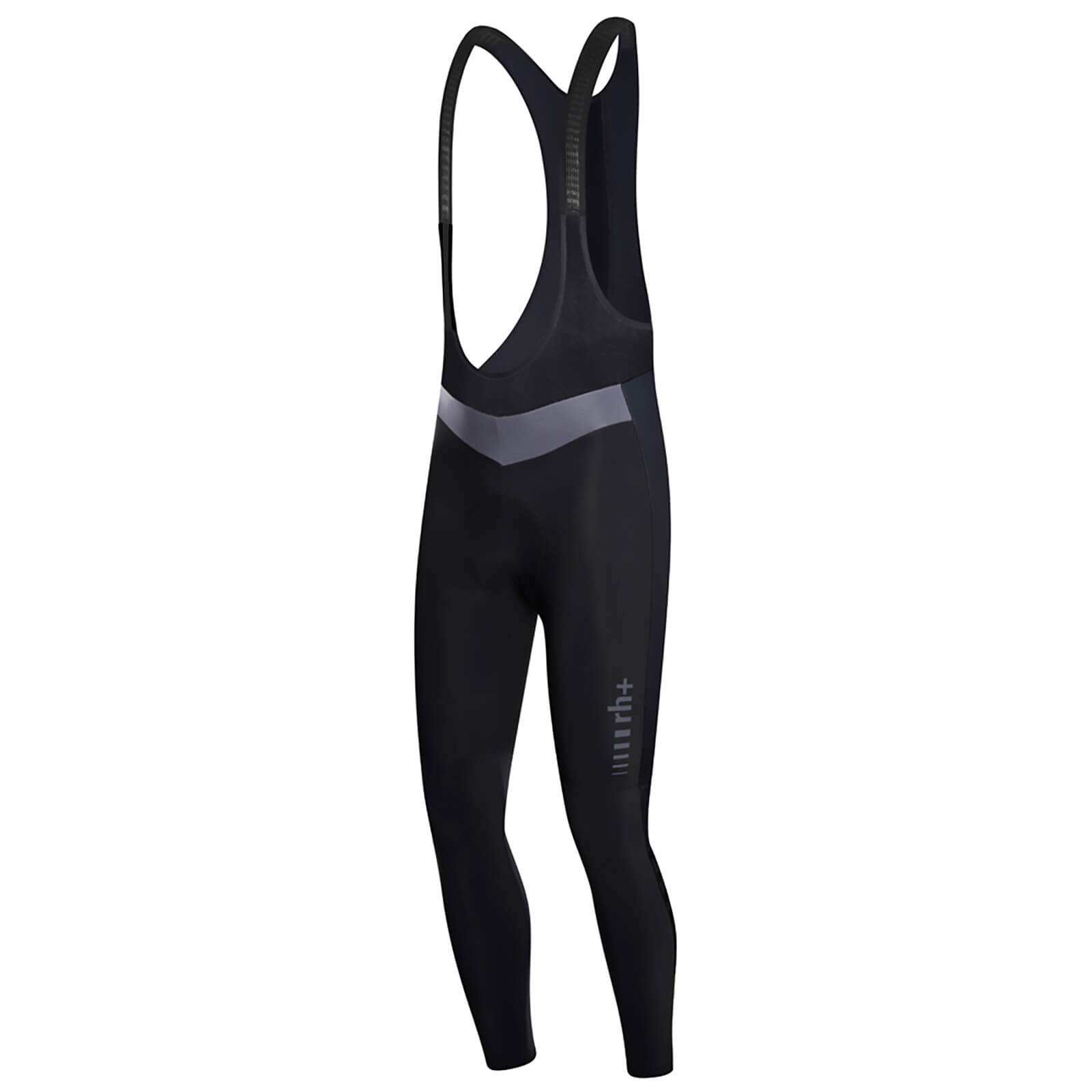 RH+ Logo EVO Bib Tights - Black/Anthracite