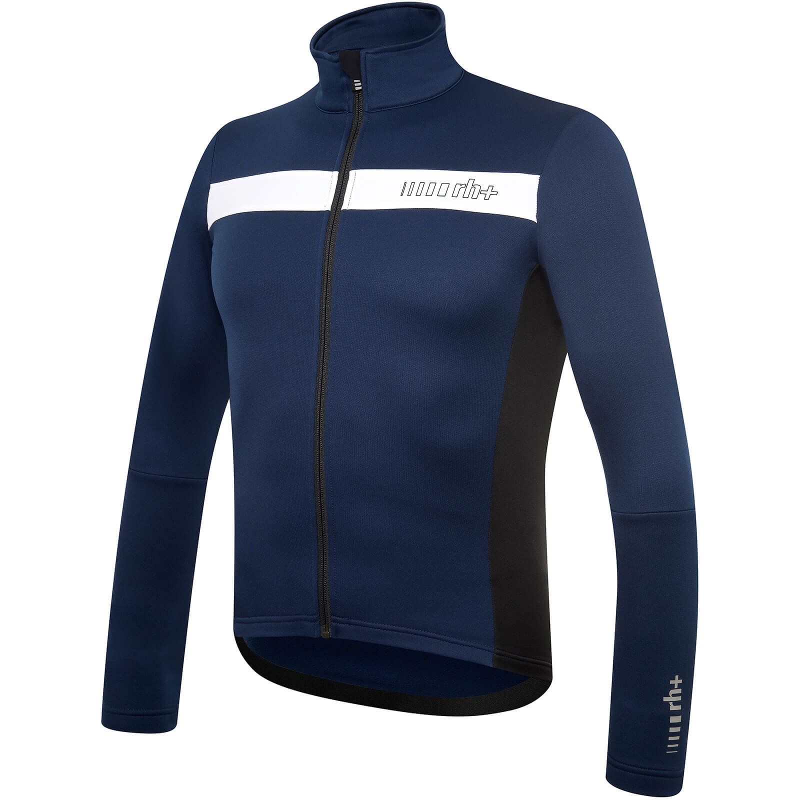 RH+ Logo Thermo Long Sleeve Jersey - Blue/White