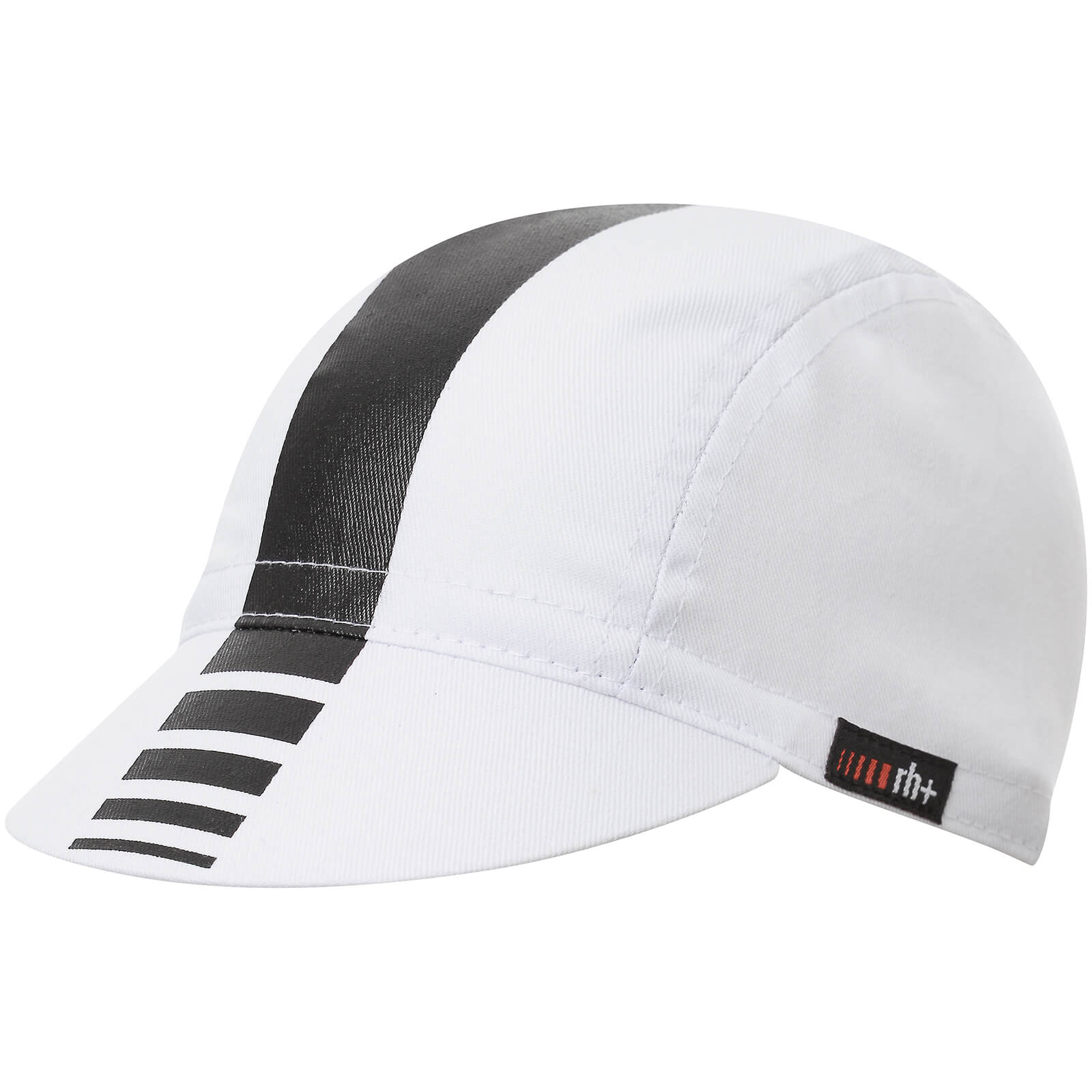 RH+ Logo Cycling Cap - White/Black