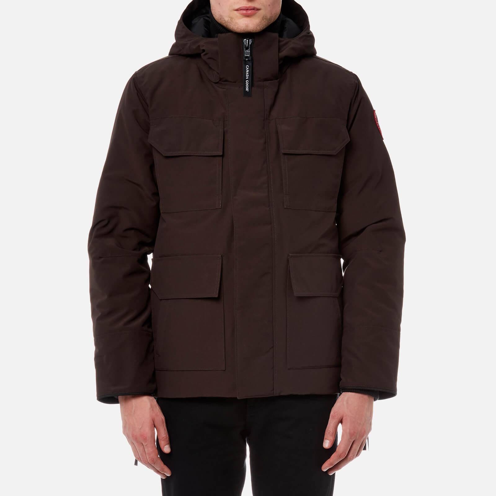 ff7ac0443ed Canada Goose Men's Maitland Parka Jacket - Charred Wood - Free UK Delivery  over £50