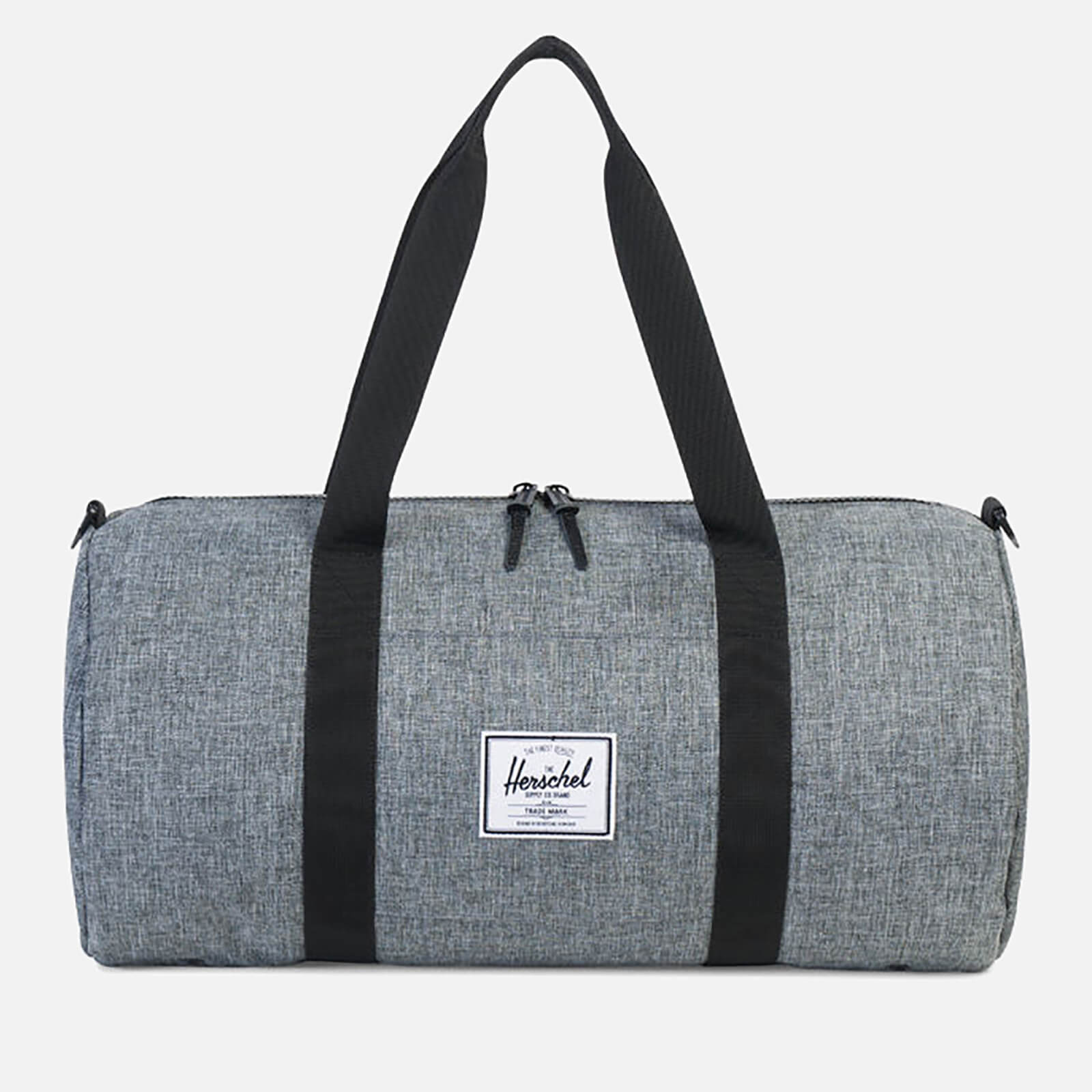 1588fe2bcc7e Herschel Supply Co. Men s Sutton Mid-Volume Duffle Bag - Raven Crosshatch  Black - Free UK Delivery over £50