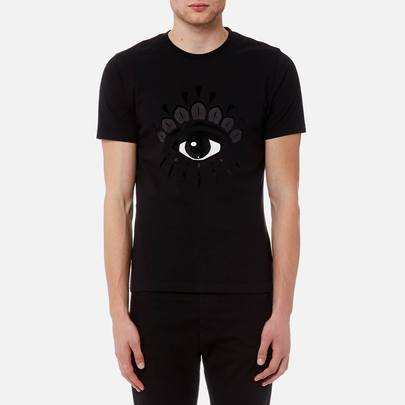 c8d8030c KENZO Men's Icons Eye T-Shirt - Black - Free UK Delivery over £50