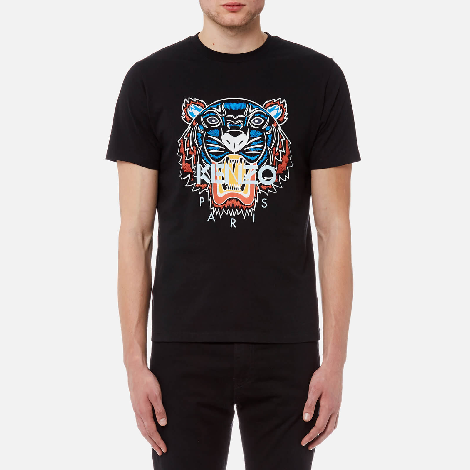 71006c6c87cd KENZO Men s Actua Tiger T-Shirt - Black - Free UK Delivery over £50