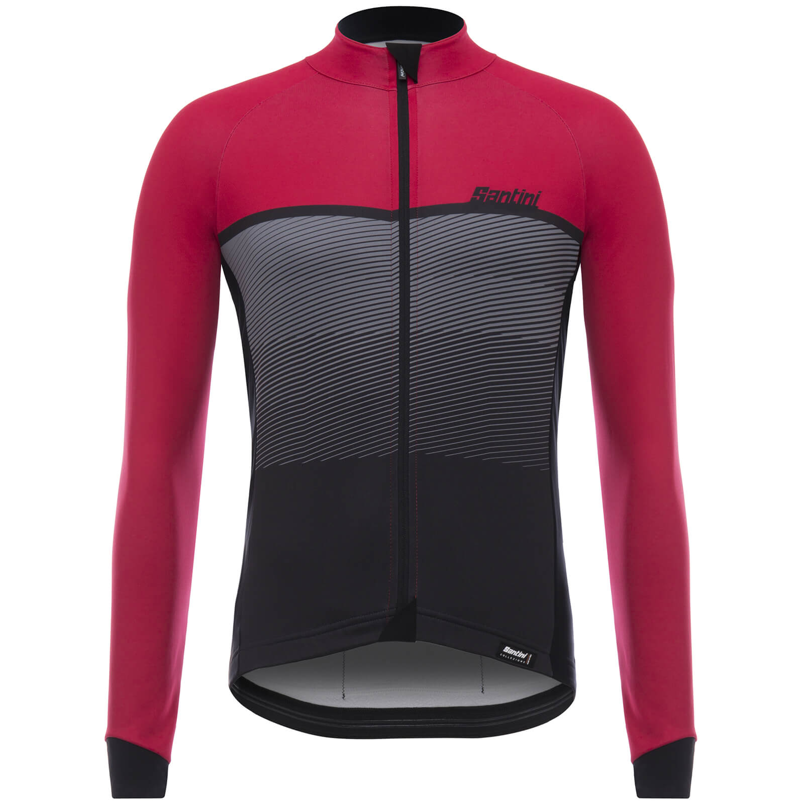 94b707800 Santini Epic Winter Long Sleeve Jersey - Red