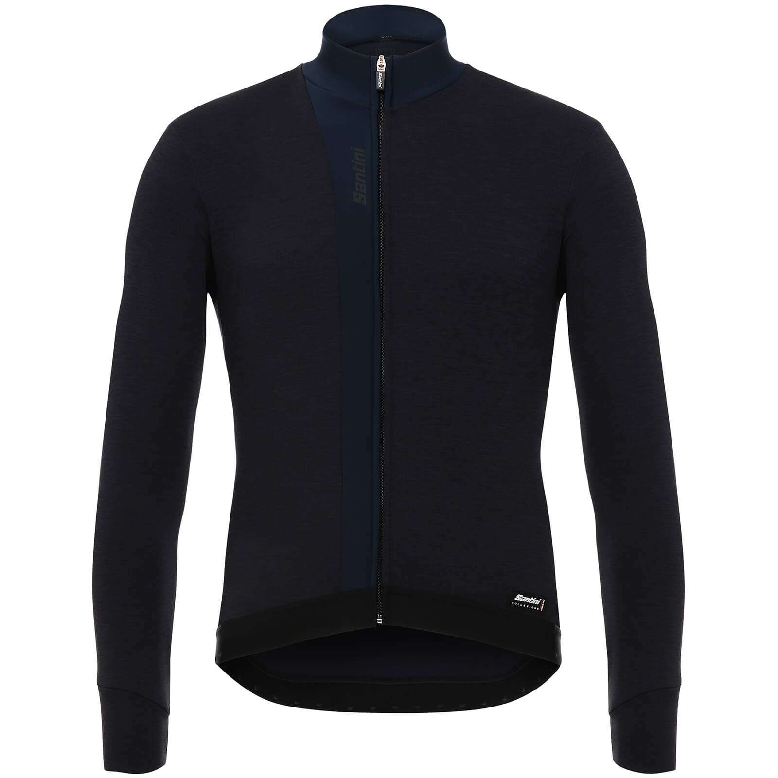 Santini Origine Winter Long Sleeve Jersey - Blue