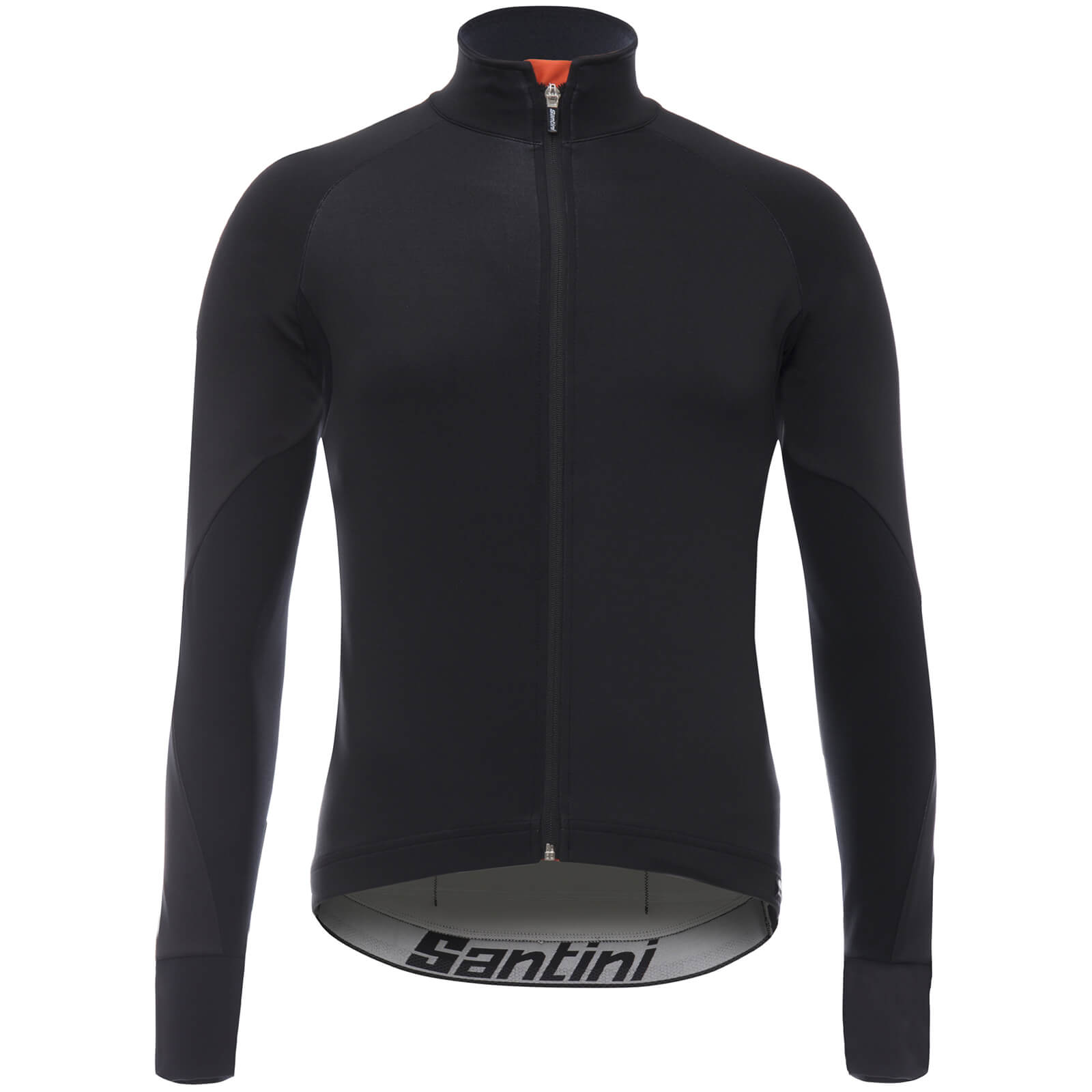 Santini Beta Rain Windstopper Jacket - Black