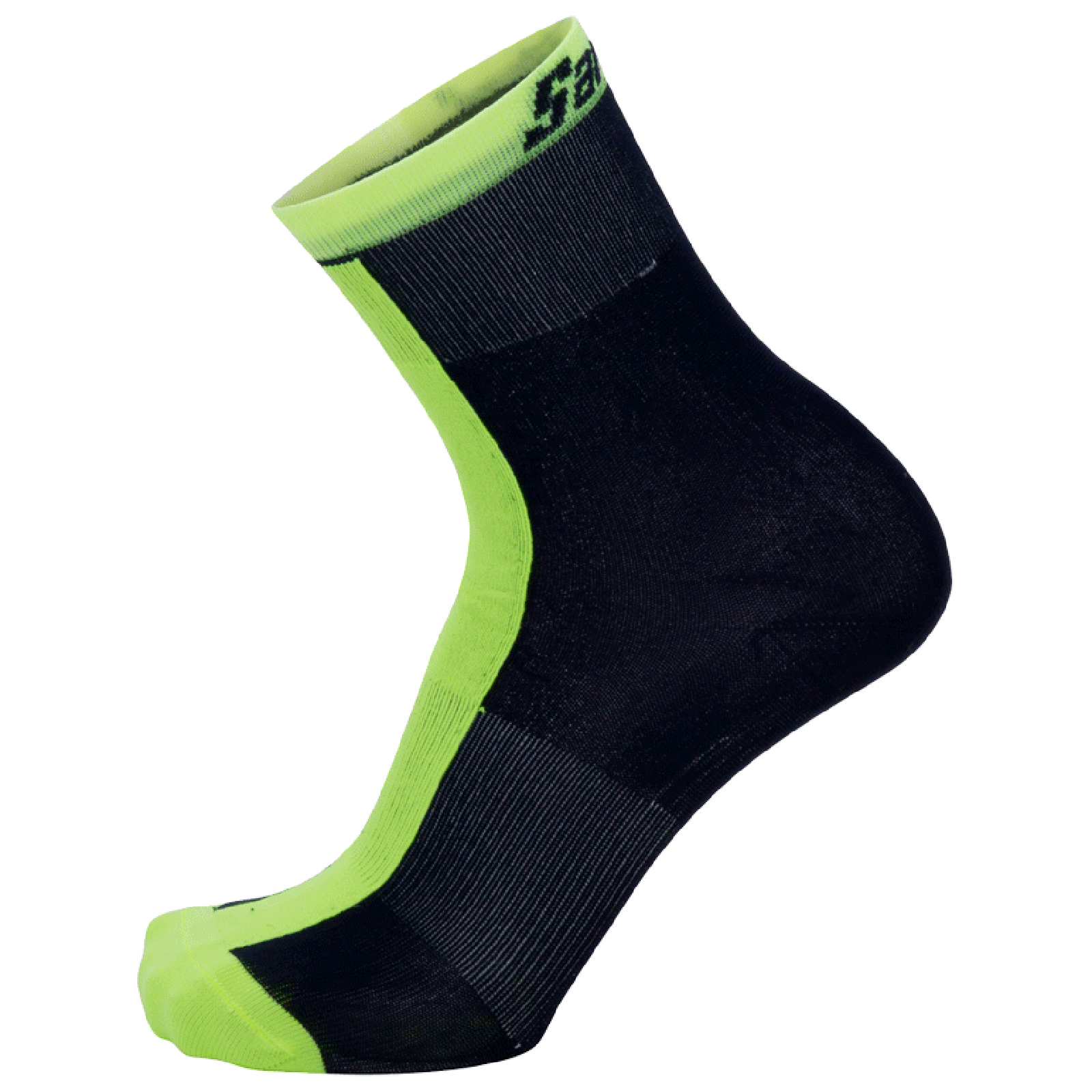 Santini Origine Winter Medium Socks - Yellow