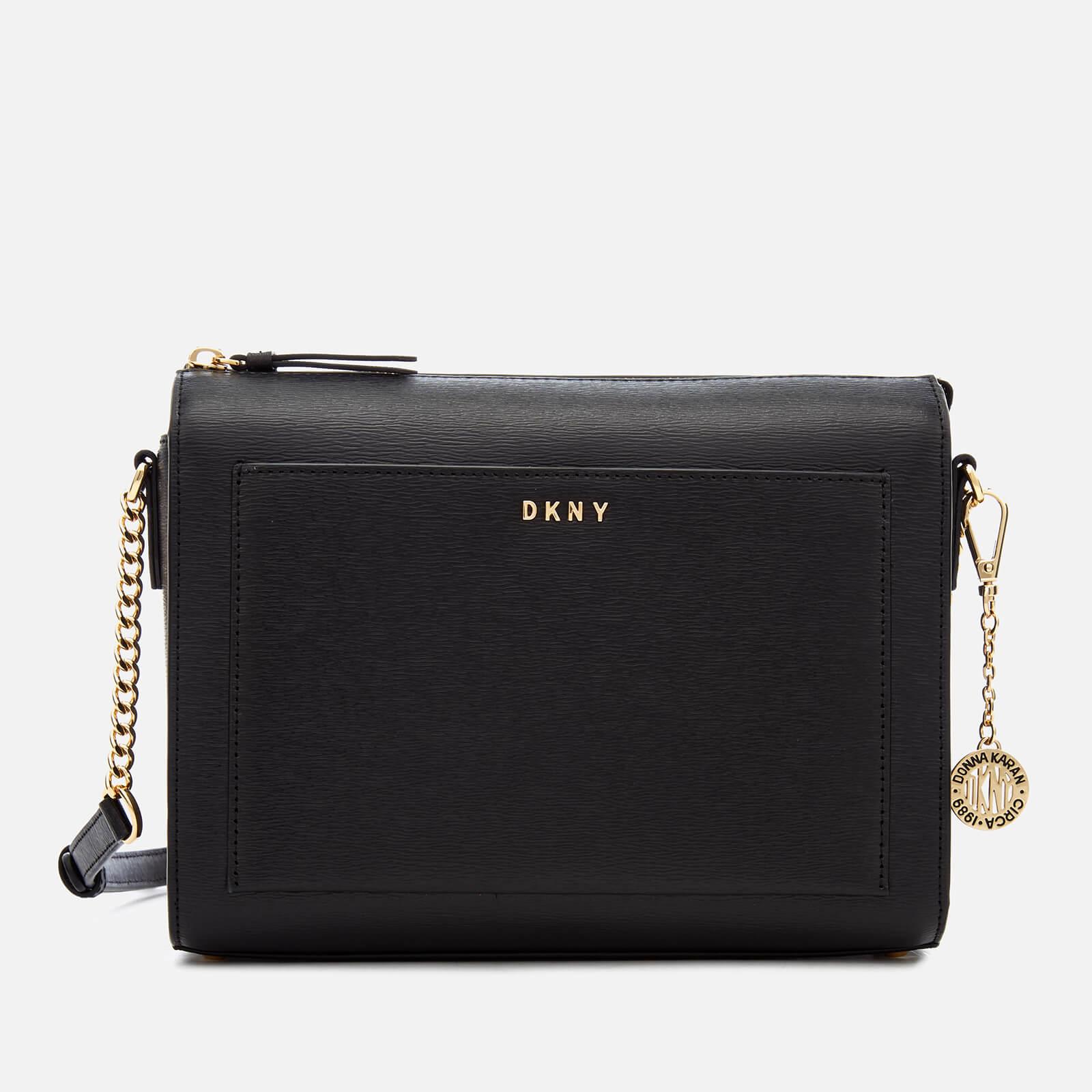42a5a35f4aed DKNY Women s Bryant Medium Box Cross Body Bag - Black Womens Accessories