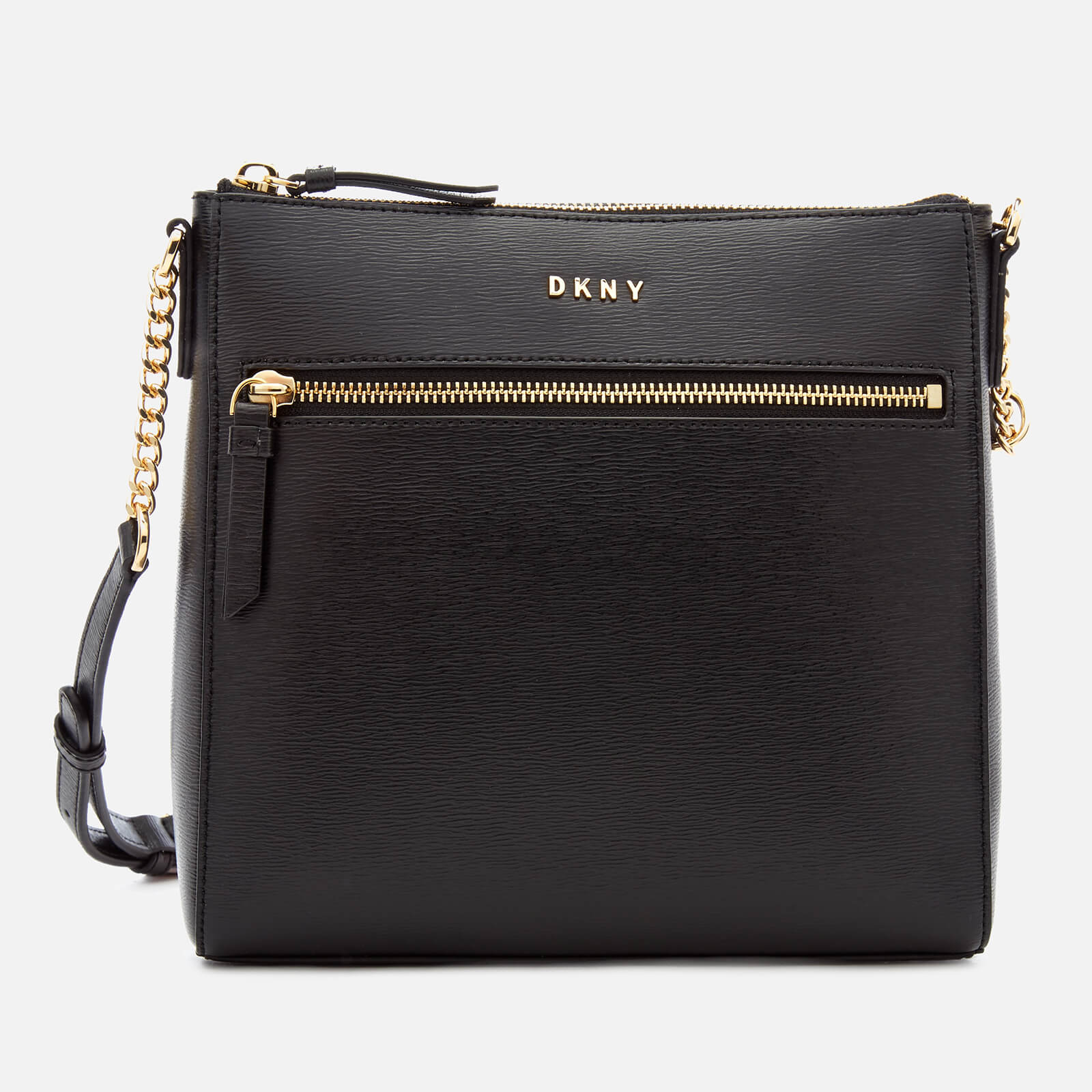 bebe7c0ba7 DKNY Women s Bryant Top Zip Cross Body Bag - Black - Free UK Delivery over  £50