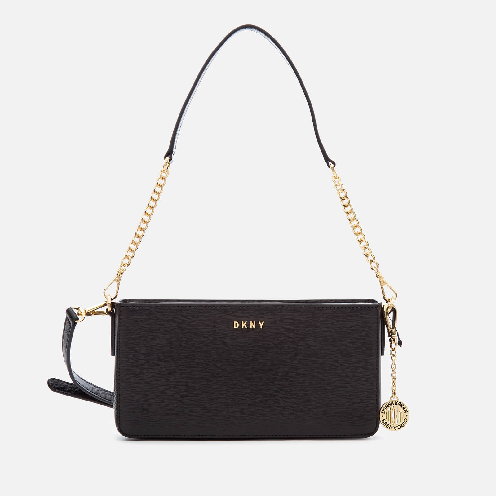 DKNY Women s Bryant Small Demi Cross Body Bag - Black - Free UK Delivery  over £50 2df8575133fb4